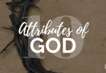 10 Attributes of God