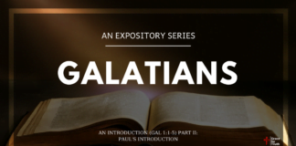 Galatians - An Introduction - Paul's Introduction Gal 11-5