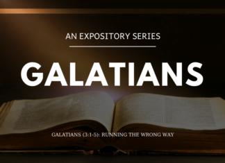 Galatians - Running the Wrong Way