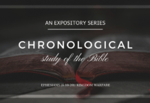 (Week #49) Kingdom Warfare (Ephesians 6:10-20)