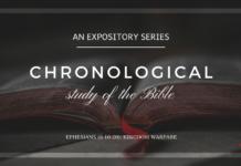 (Week #49) Kingdom Warfare (Ephesians 6:10-20)