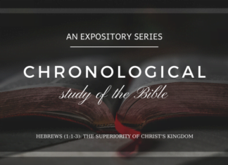 Hebrews - The Superiority of Christ's Kingdom