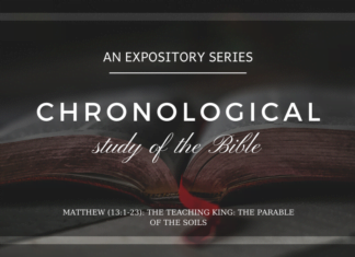 Matthew - The Teaching King - The Parable of the Soils