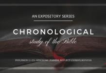 Philemon - Kingdom Leaders Reflect Christlikeness